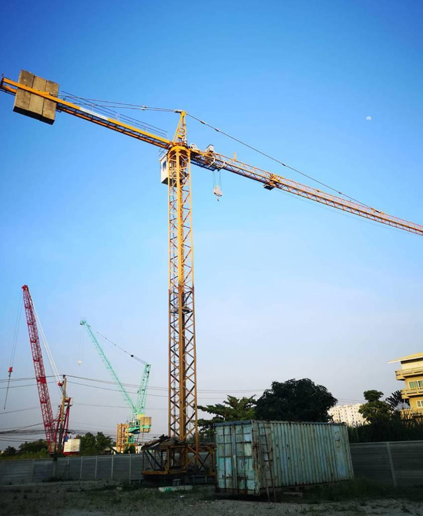 Tower Crane Potain ម៉ាក Topkit E10/14C